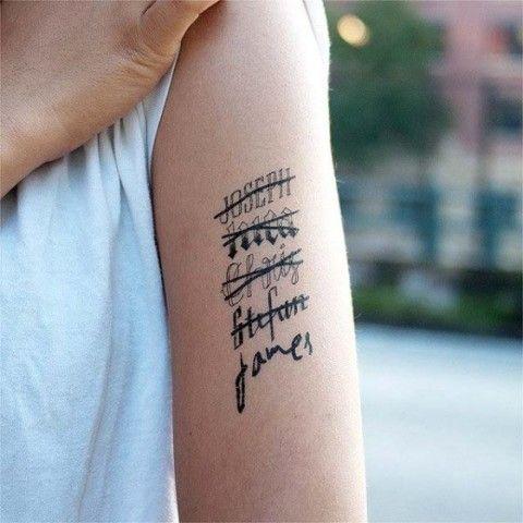ex boyfriend Tattoo