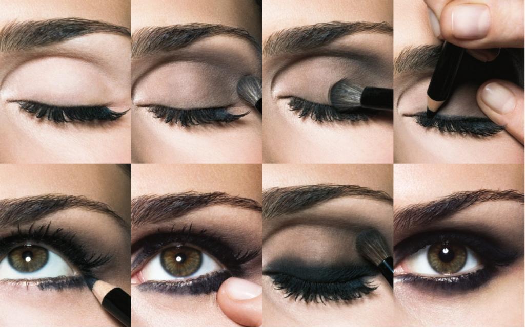 Как сделать чёрные тени в домашних условиях