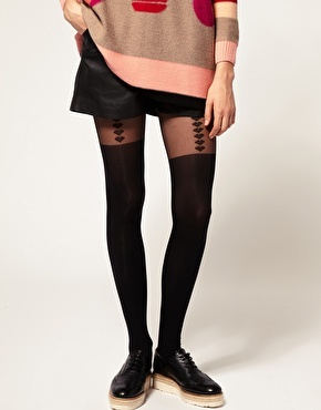 Gypsy Mock Suspender Tights from Asos