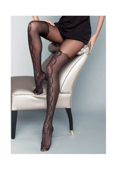 Stivale Mock Hold-Up Tights by Veneziana