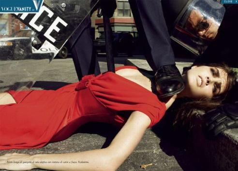 Vogue spread, from GenderAds
